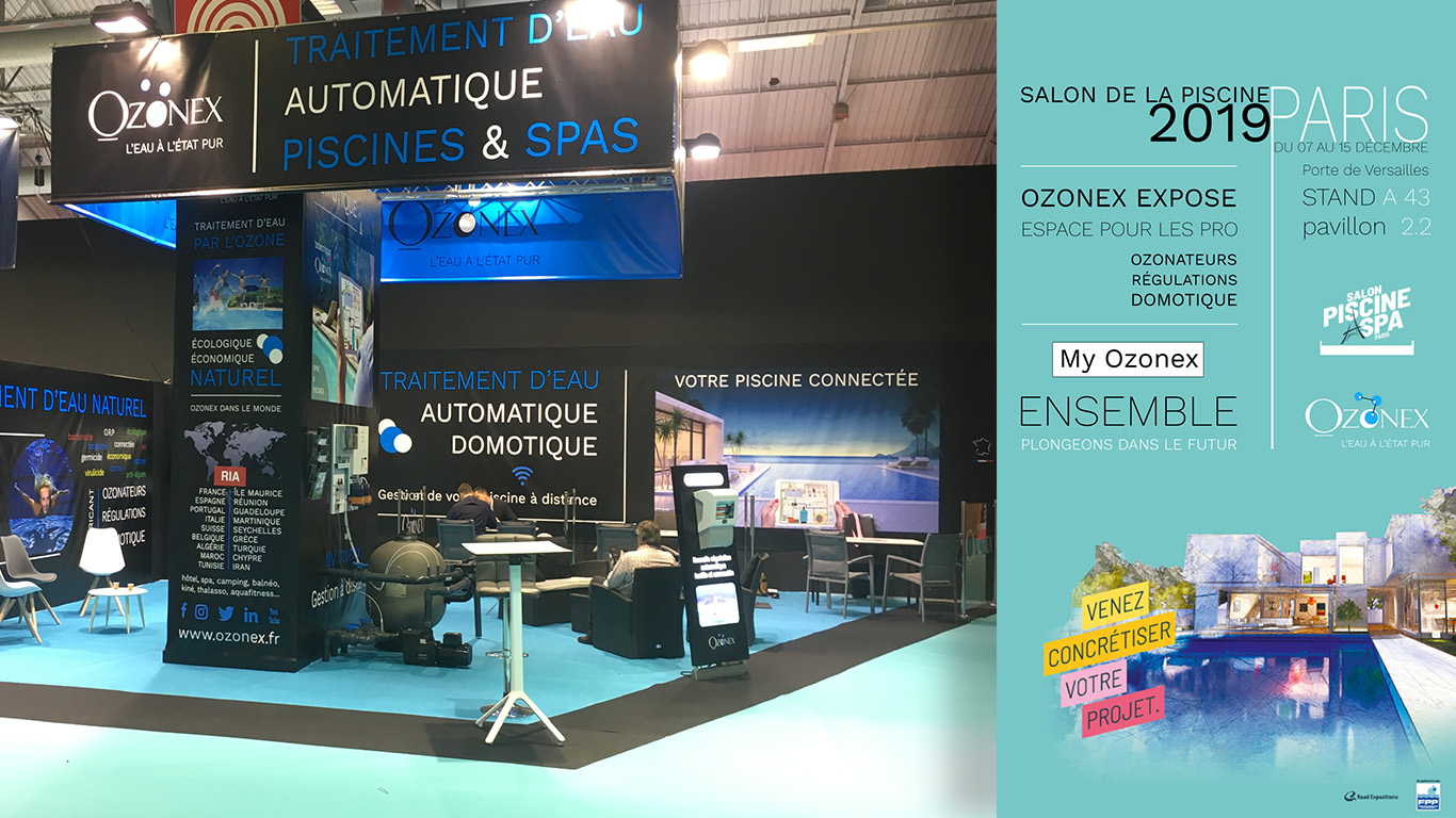 salon de la piscine paris 2019